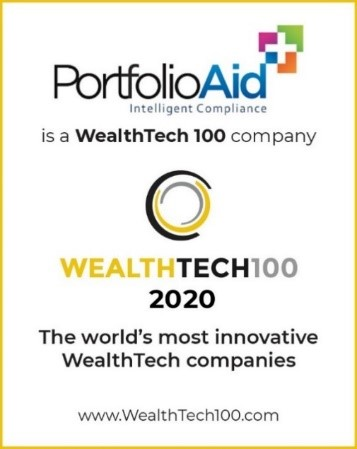 PortfolioAid is a WealthTech 100 company.